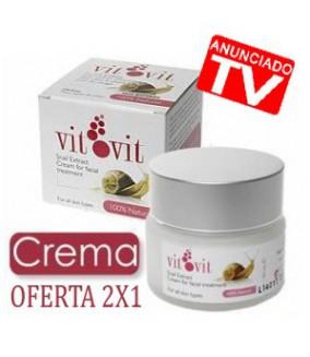 Crema Baba de Caracol 2X1