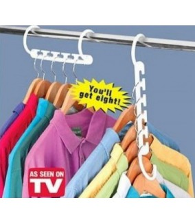 Perchas Ahorraespacio Magic Wonder Hanger
