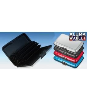 Pack 3 Carteras Aluminio Aluma Wallet