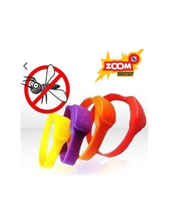Pack 3 Pulseras Zoom Antimosquitos