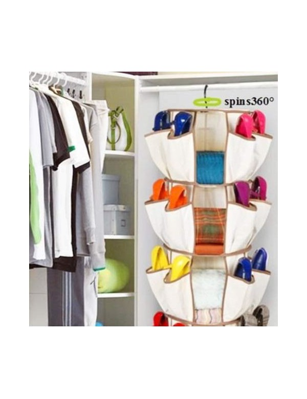 Organizador de bolsos y zapatos organizador armario - Organizador de zapatos ikea ...
