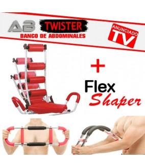 Ab Rocket Twister + Flex Shaper