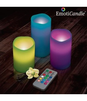 Velas Led Multicolor (Pack 3)