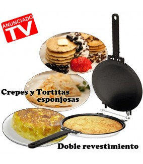 Sárten Crepes y Tortitas