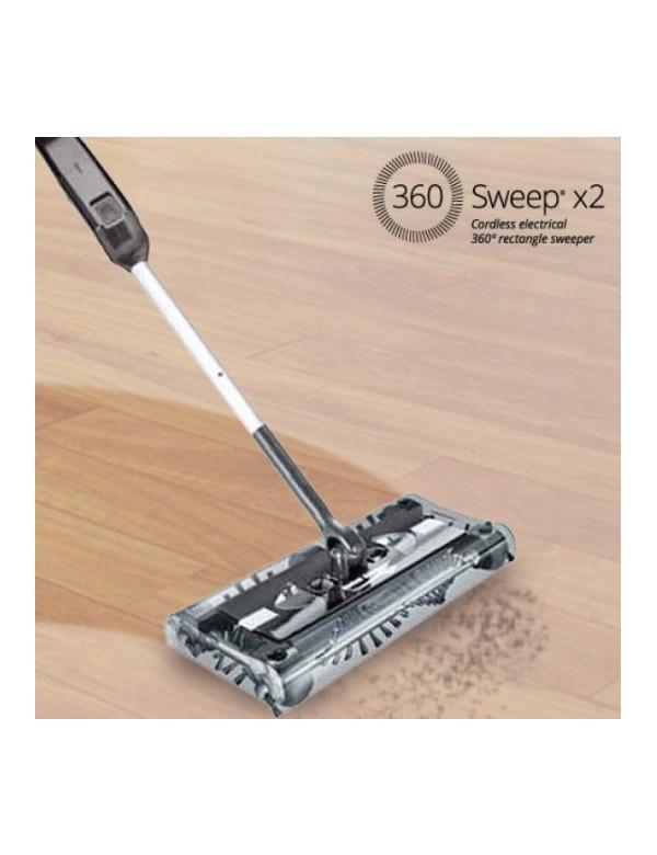 Escoba Eléctrica Rectangular Sweep X2