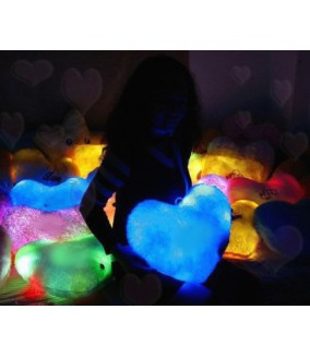 Cojín Luz Corazón