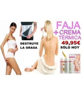 Redumax Fast Model: Faja + Crema Térmica