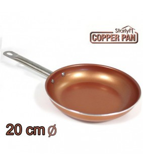 SET DE 3 SARTENES DE COBRE COPPER PAN