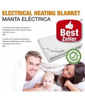 Manta Eléctrica Doble Best Zeller 160 x 140