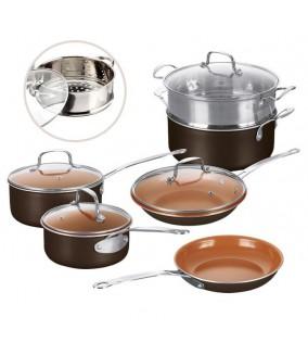 Bateria de Cocina Copper 10 Piezas
