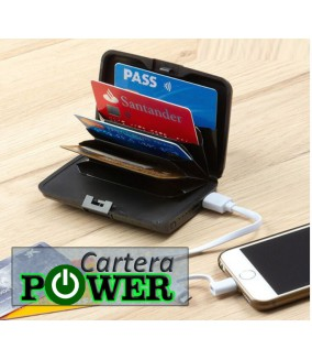 Cartera Power Recargable