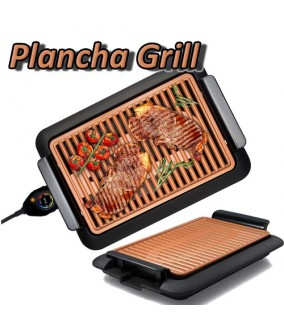Plancha Grill Cobre sin Humos