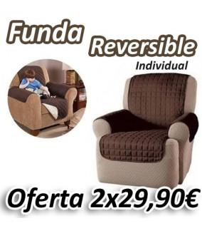 Funda Reversible de Sillón Individual