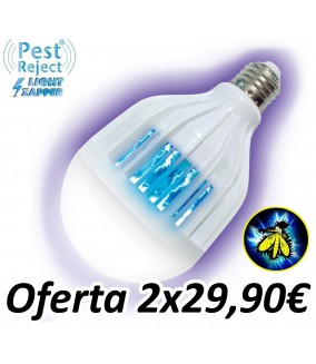 Bombilla Anti Insectos Pest Reject Light Zapper
