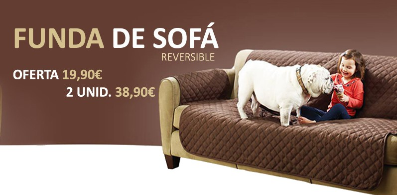 FUNDA DE SOFA REVERSIBLE COUCH COAT